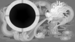 龙吐水 烟灰缸 精雕图