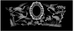 寿盒—仙鹤
