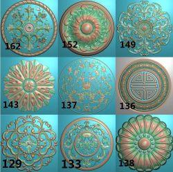 圆形洋花合集15