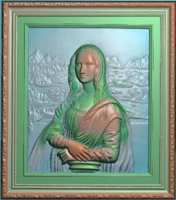 人物 浮雕 蒙娜丽莎