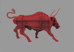 动物书架斗牛