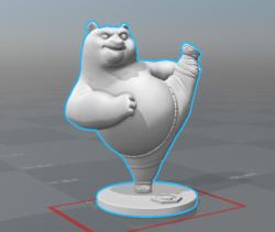 分享一个圆雕模型